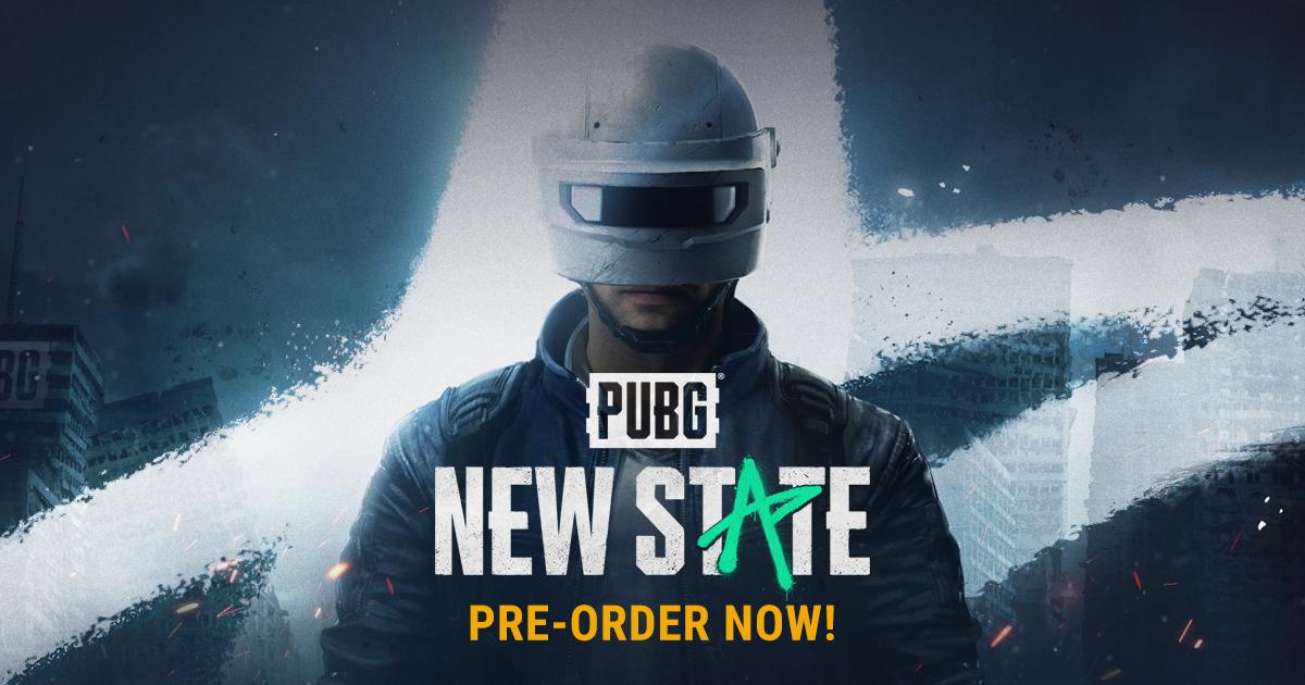 Pubg new state pre-order