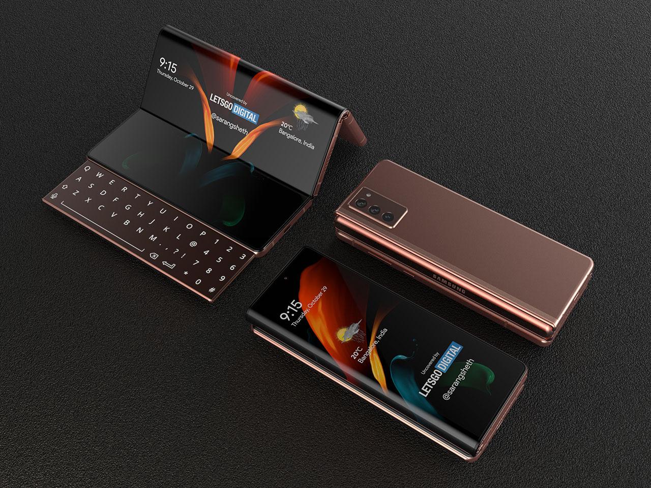 Πιθανή μία μικρότερη εξωτερική οθόνη στο Samsung Galaxy Z Fold 3