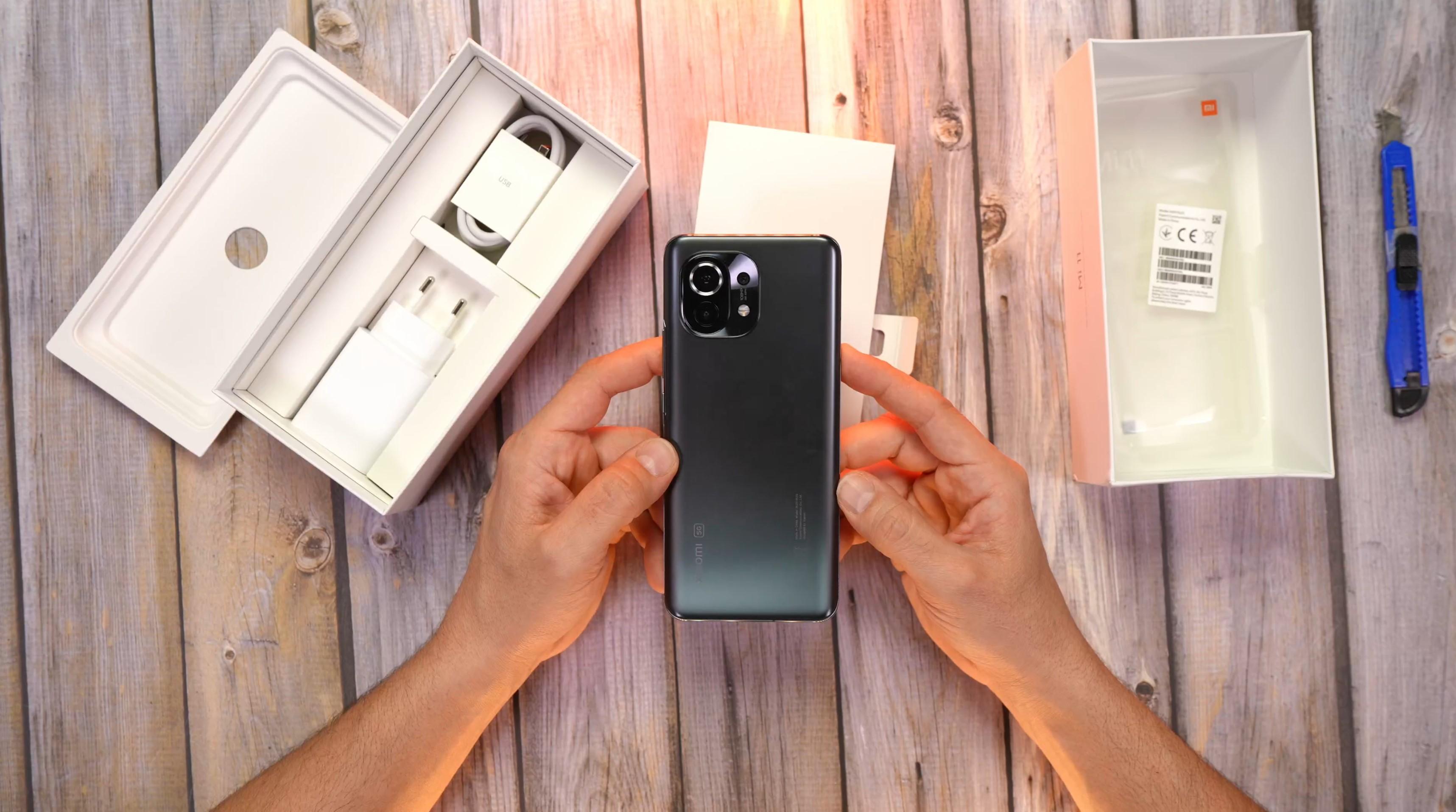 Xiaomi Mi 11 unboxing