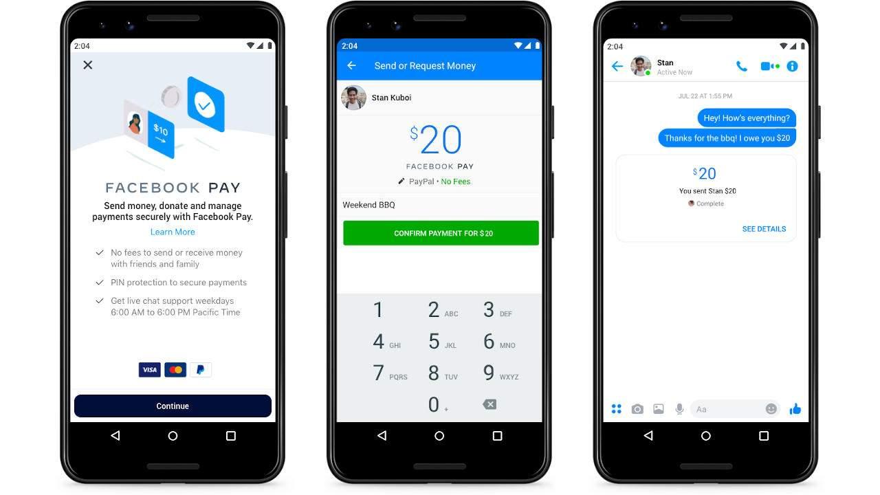 Νέα δυνατότητα πληρωμών του Facebook Pay με QR Code