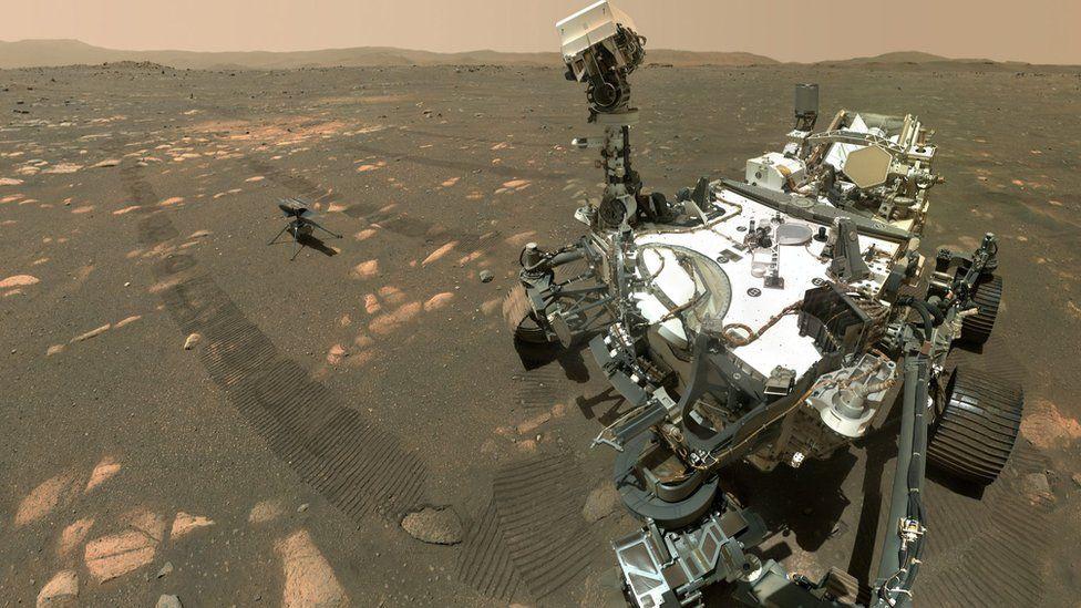 H NASA καταφέρνει να κάνει το Ingenuity να πετάξει στον Άρη