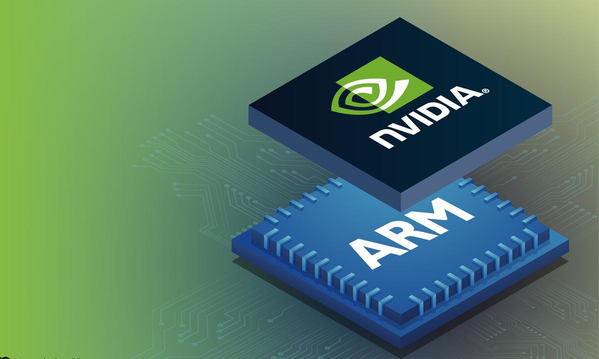 H Βρετανία εξετάζει την εξαγορά της ARM από την ΝVIDIA