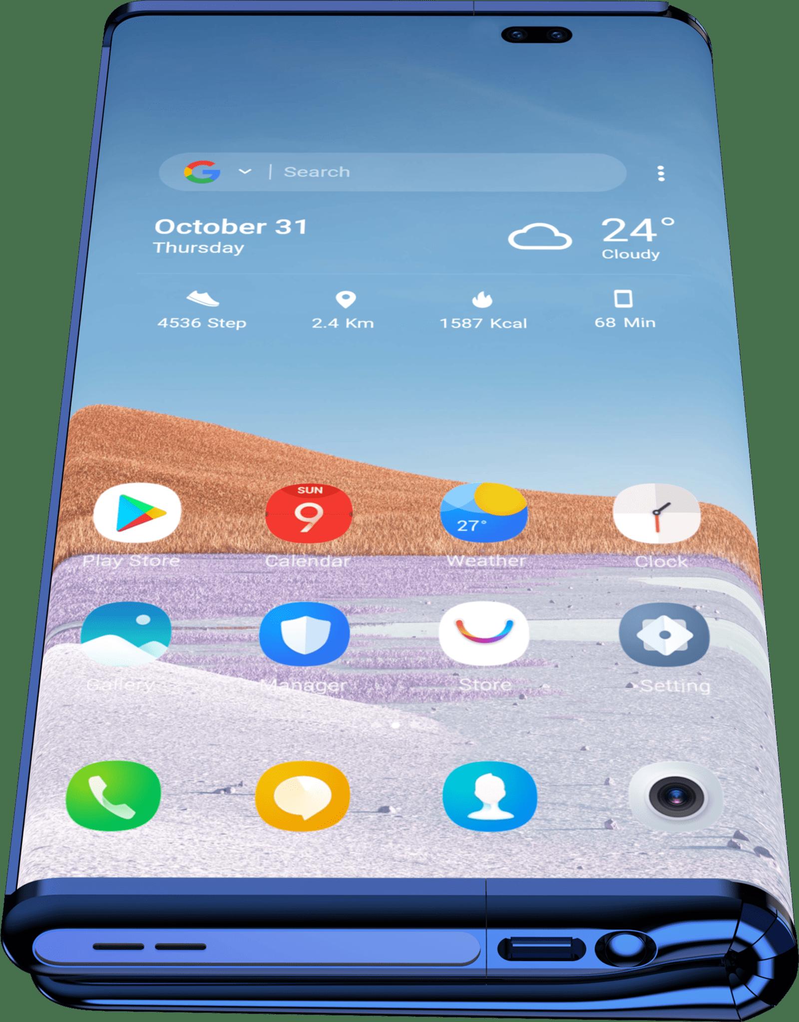 TCL Fold 'n' Roll concept: Ο smartphone σχεδιασμός ξεφεύγει