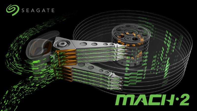 H Seagate παρουσιάζει σκληρό δίσκο Mach 2 στα 14 ΤΒ