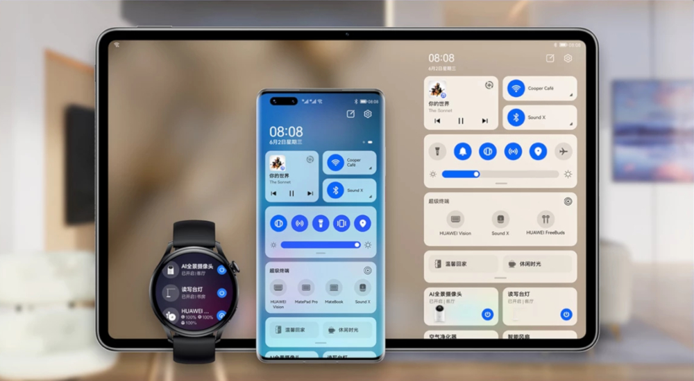 H Huawei φέρνει το HarmonyOS με τις συσκευές που θα το φορούν