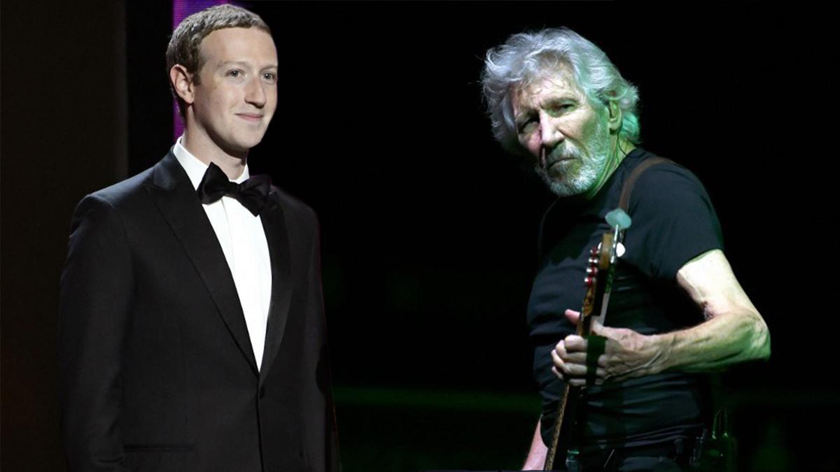 Facebook: Τρώει τεράστιο άκυρο από τον Roger Waters