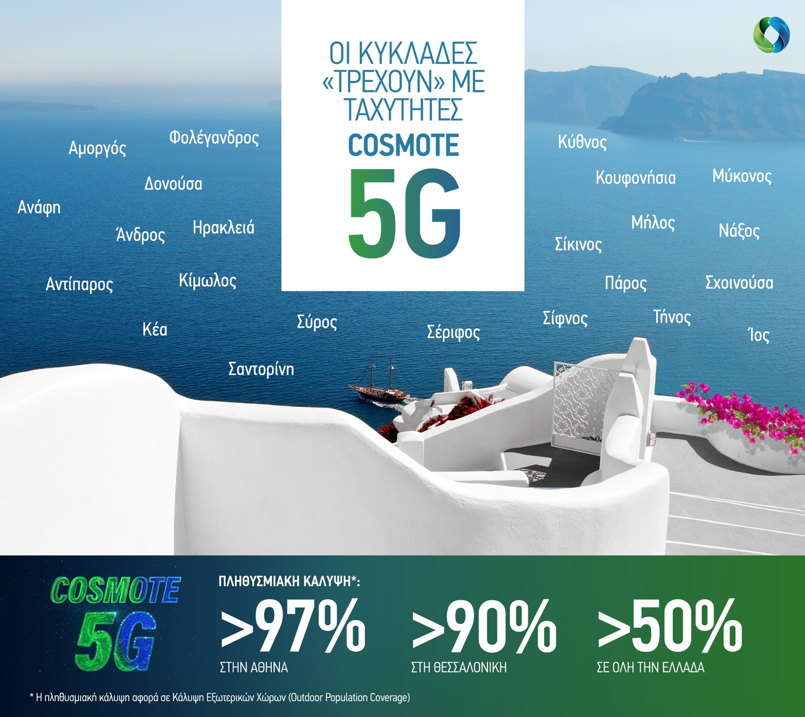 COSMOTE 5G Cyclades 2021