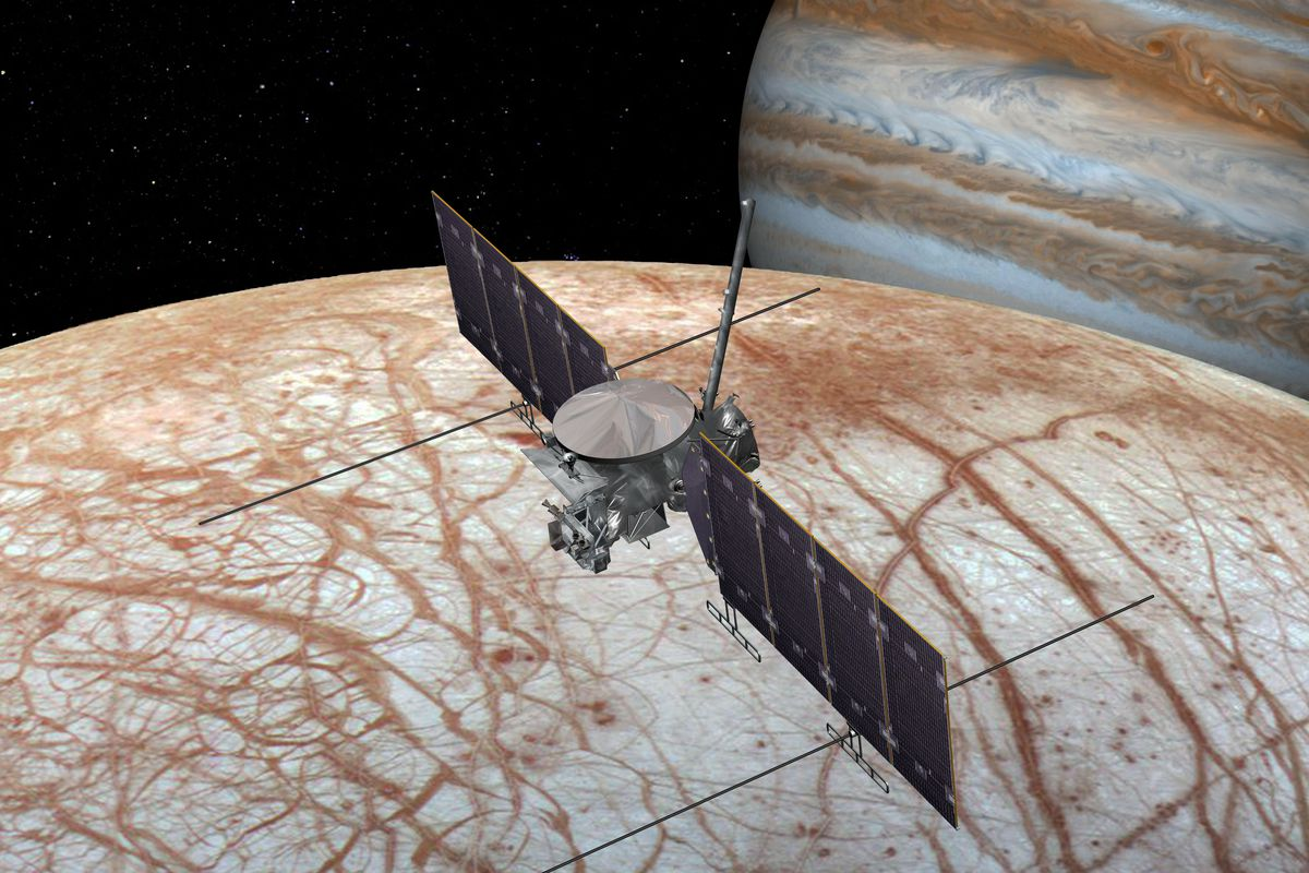 SpaceX will take NASA mission to Jupiter Europe