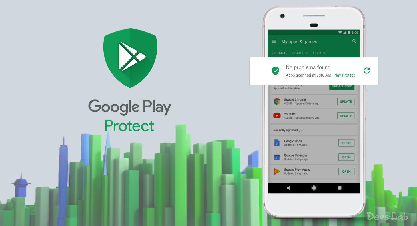 Μόλις το 31% των απειλών ανιχνεύονται από το Google Play Protect