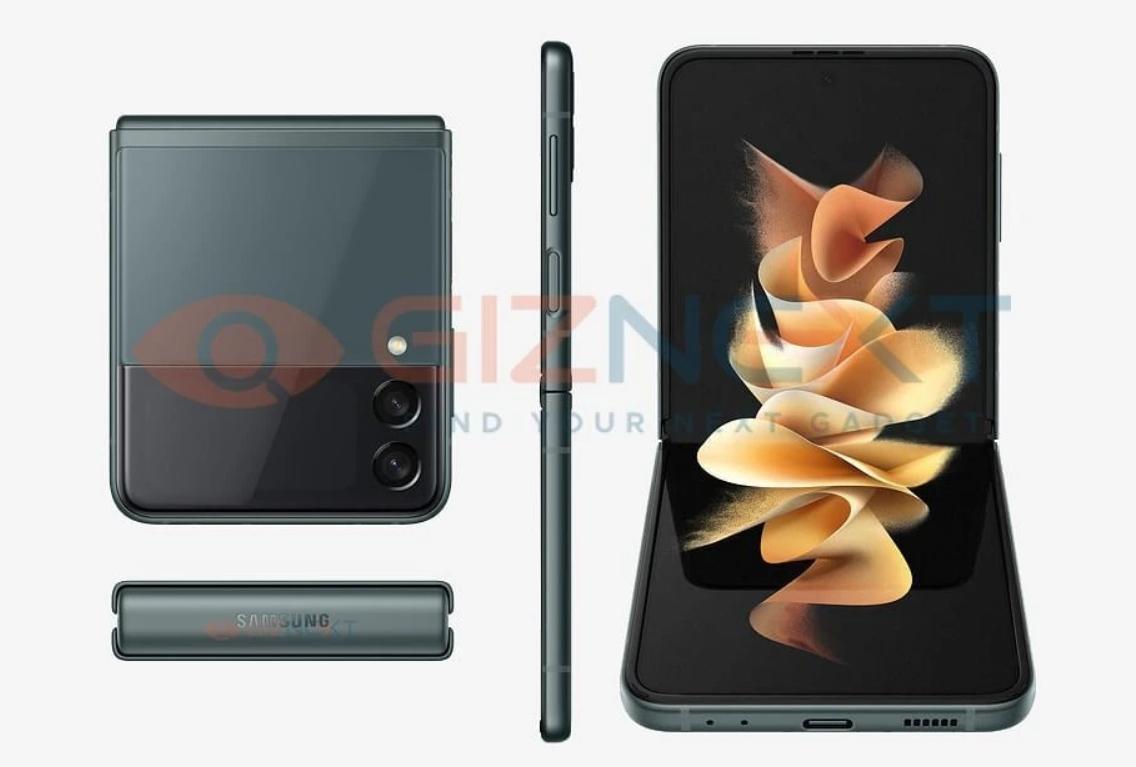 Samsung Galaxy Z Flip 3: Φωτογραφίζεται από όλες τις γωνίες