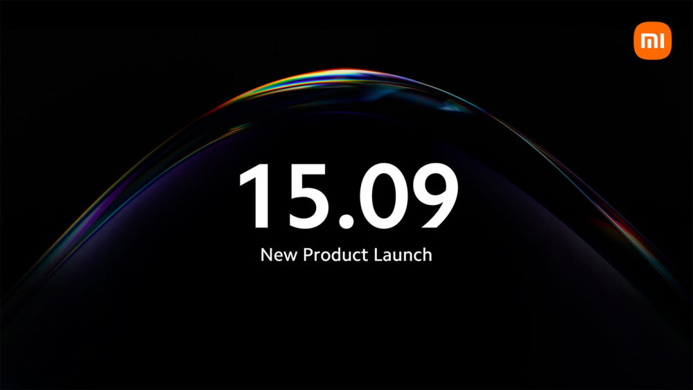 Xiaomi new product launch 15.09