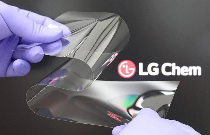 LG Real Folding Window: Σκληρό σα γυαλί και εύκαμπτο σαν πλαστικό