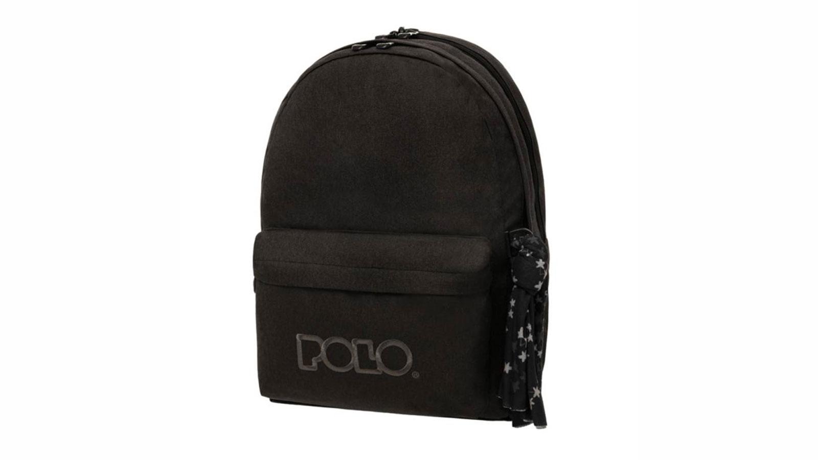 Σακίδιο Πλάτης Polo Original Double Μαύρο