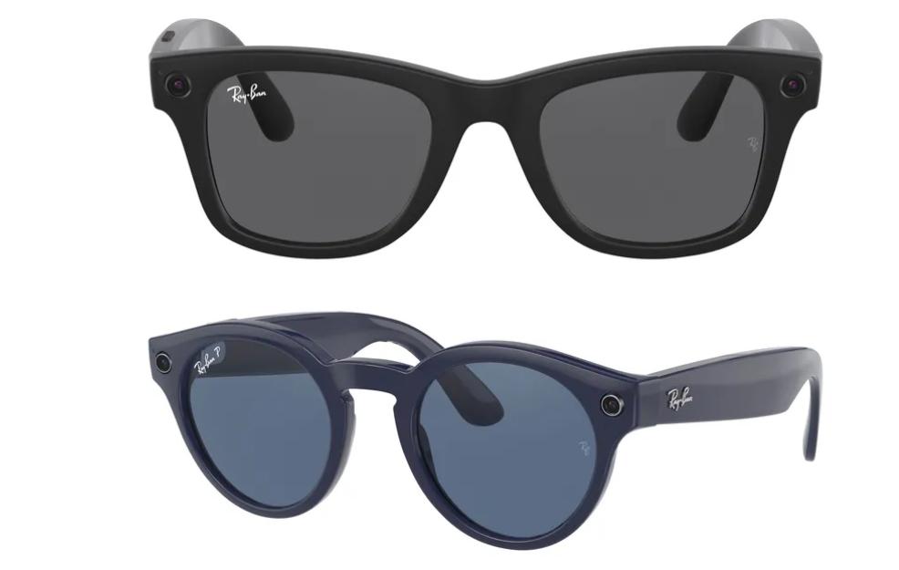 Τα έξυπνα γυαλιά του Facebook με τη Ray-Ban εμφανίζονται online