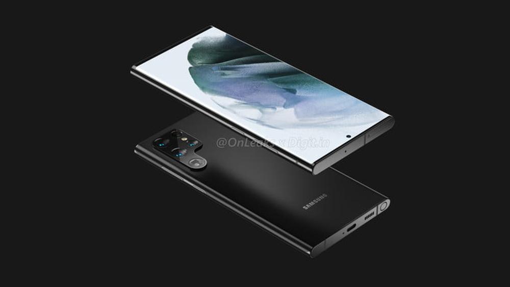 Samsung Galaxy S22 Ultra: Εμφανίζονται τα πρώτα renders