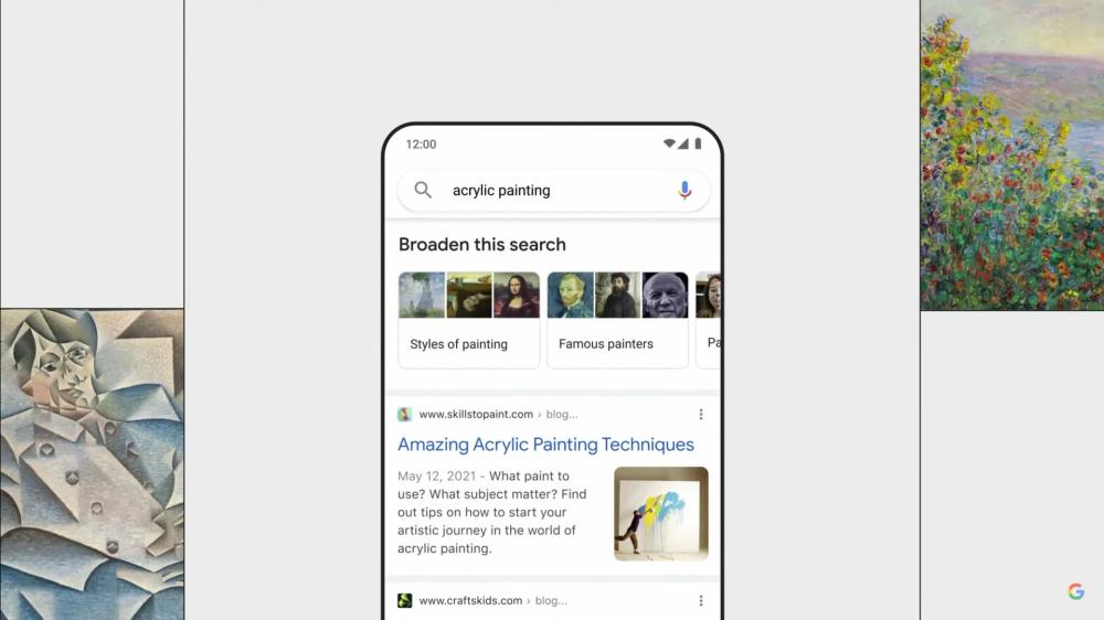 Google-Suche: Neugestaltung mit MUM-Technologie