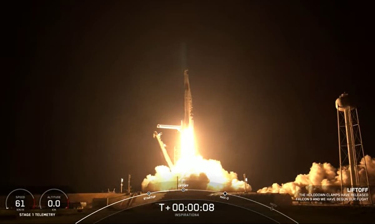 SpaceX: Ιστορική αποστολή πολιτών στο Διάστημα