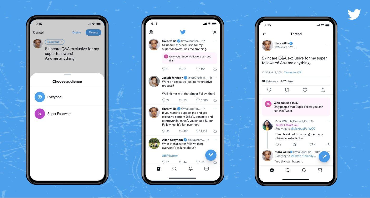 Twitter: Θέτει σε λειτουργία την υπηρεσία Super Follows στις ΗΠΑ